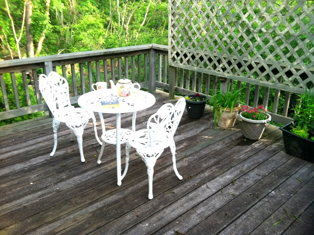 nest balcony with trees and tea table 5-14