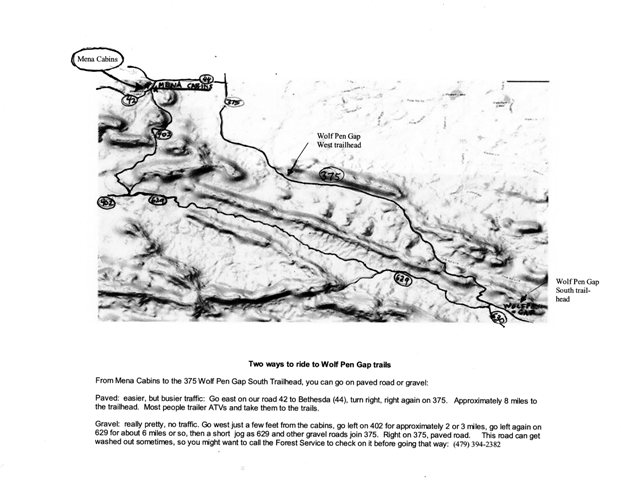 Wolfpen Gap Map from cabins web large